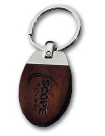 Engraved Inglewood Key Chain