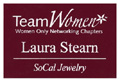 Maroon White Employee Name Tag