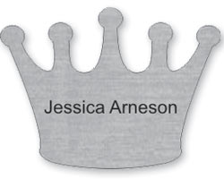 Custom Shaped Name Tags